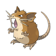 Rattatac pokemon
