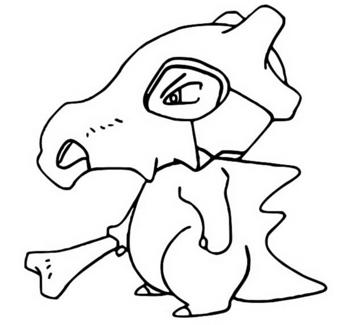 coloriage pokemon Osselait