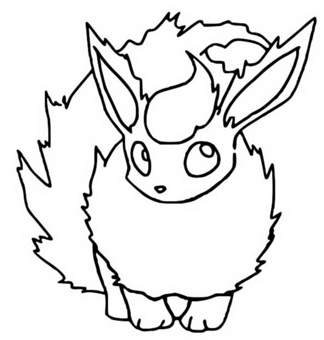 coloriage pokemon Pyroli