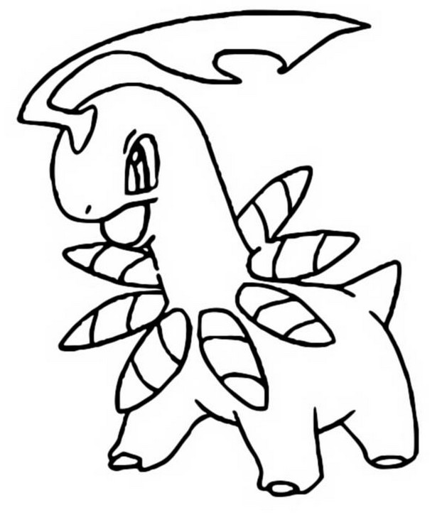 coloriage pokemon Macronium