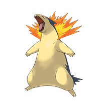 Typhlosion pokemon