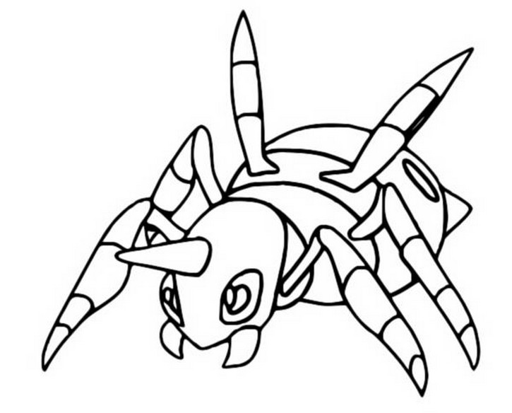 coloriage pokemon Migalos