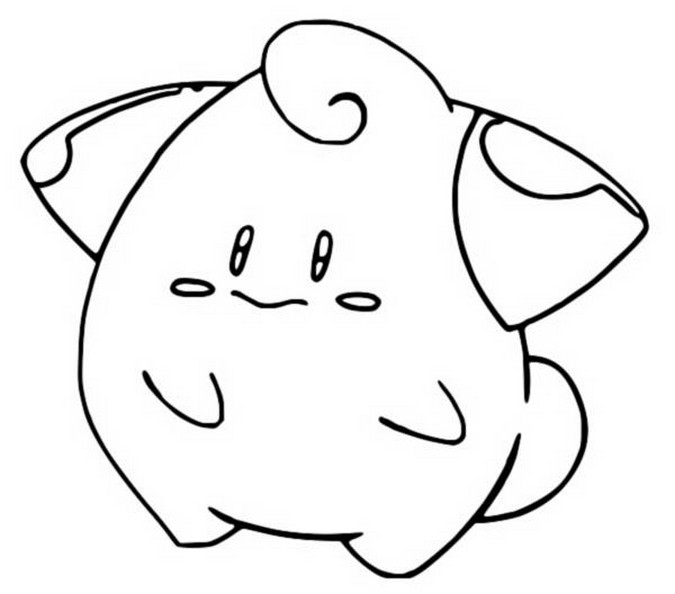 coloriage pokemon Mélo