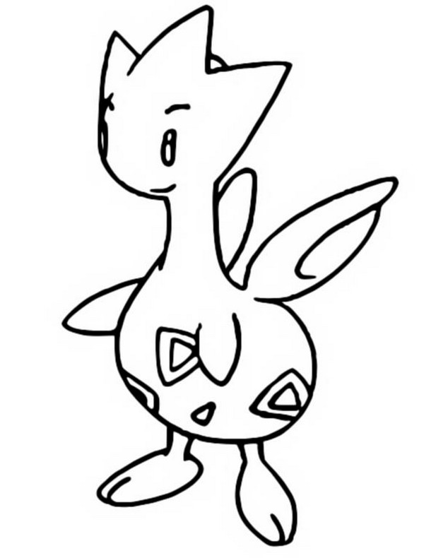 coloriage pokemon Togetic