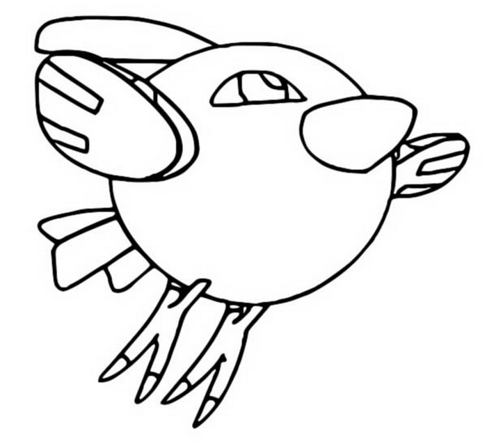 coloriage pokemon Natu