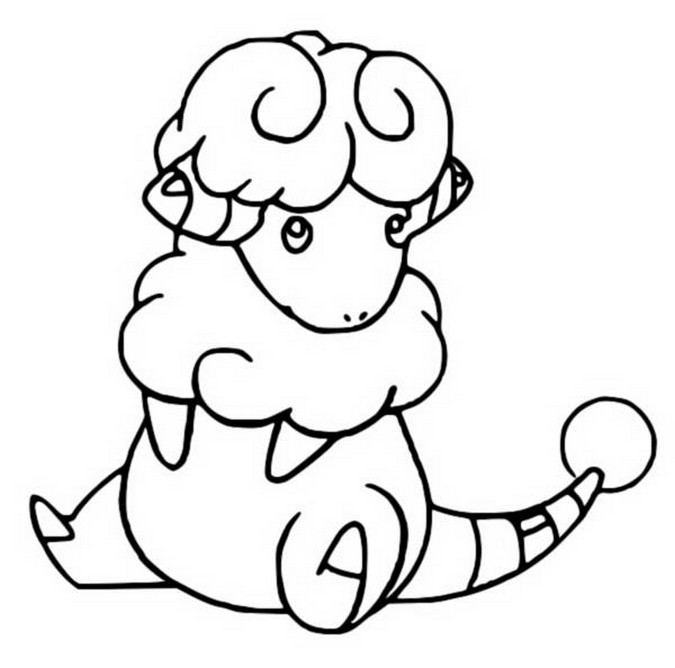 coloriage pokemon Lainergie