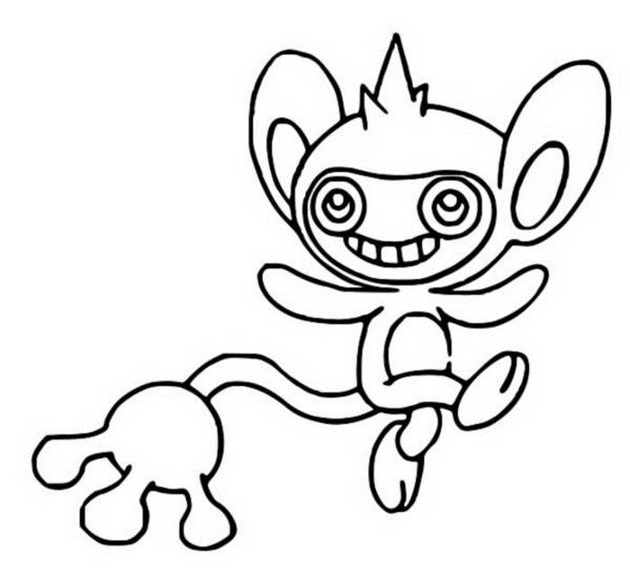 coloriage pokemon Capumain