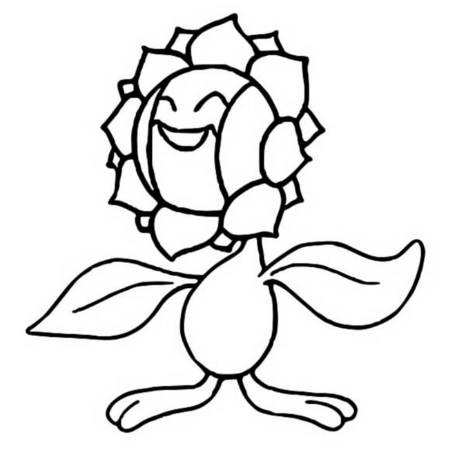 coloriage pokemon Héliatronc