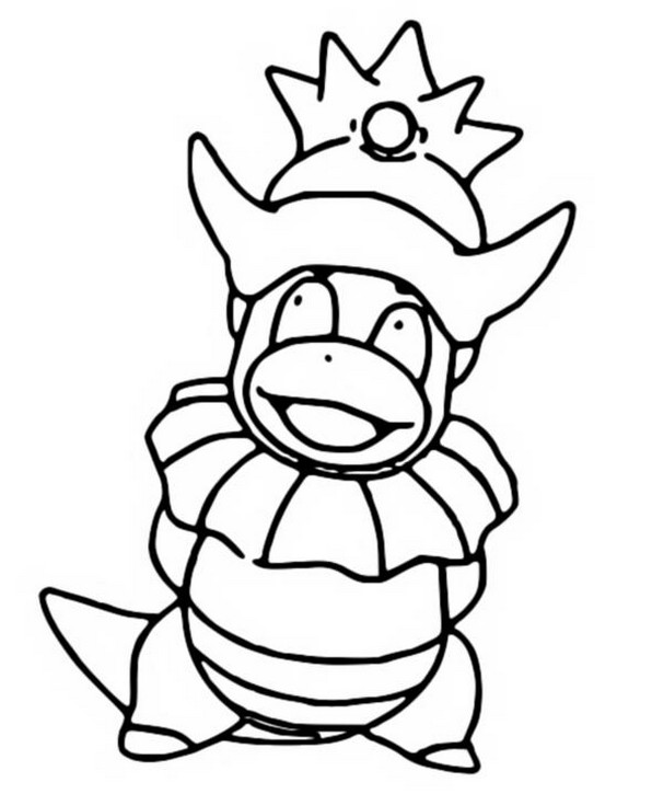 coloriage pokemon Roigada