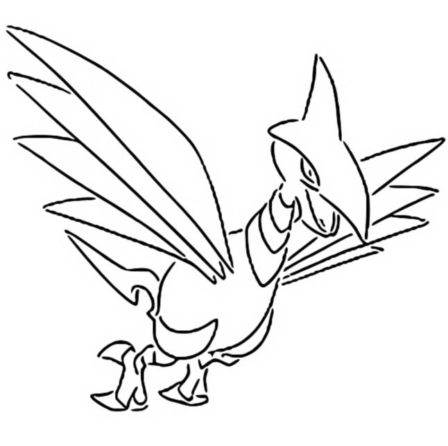 coloriage pokemon Airmure