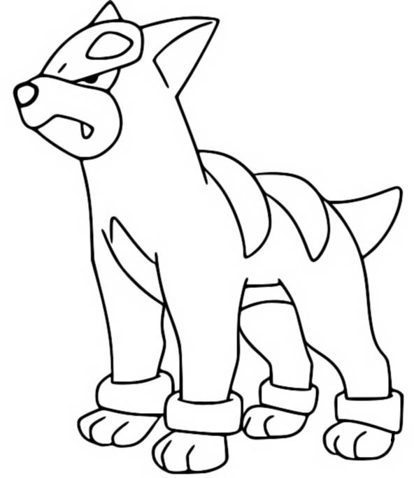 coloriage pokemon Malosse