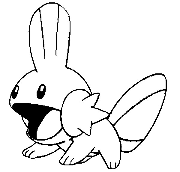 coloriage pokemon Gobou