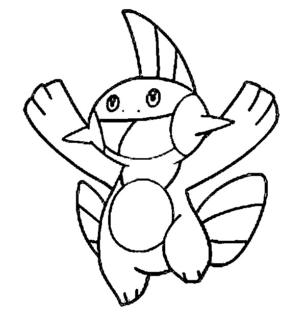 coloriage pokemon Flobio