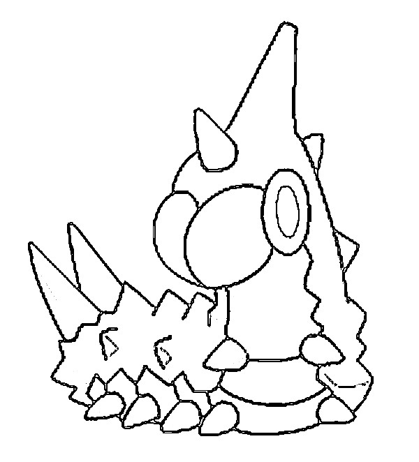 coloriage pokemon Chenipotte