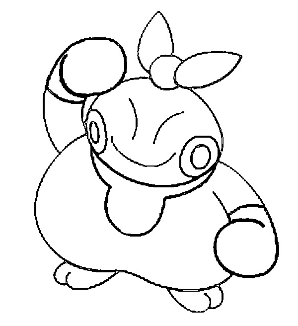 coloriage pokemon Makuhita