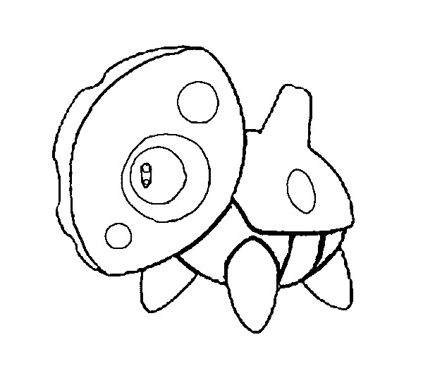 coloriage pokemon Galekid