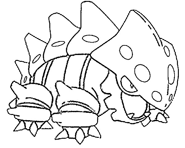 coloriage pokemon Galegon