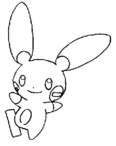 coloriage pokemon Négapi