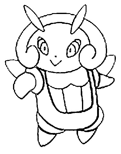 coloriage pokemon Lumivole