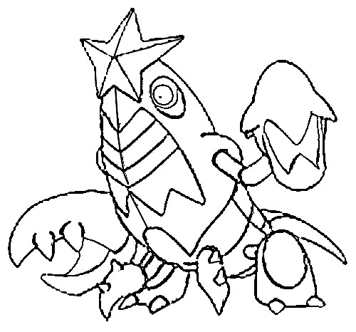 coloriage pokemon Colhomard