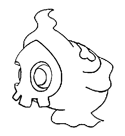 coloriage pokemon Skelénox