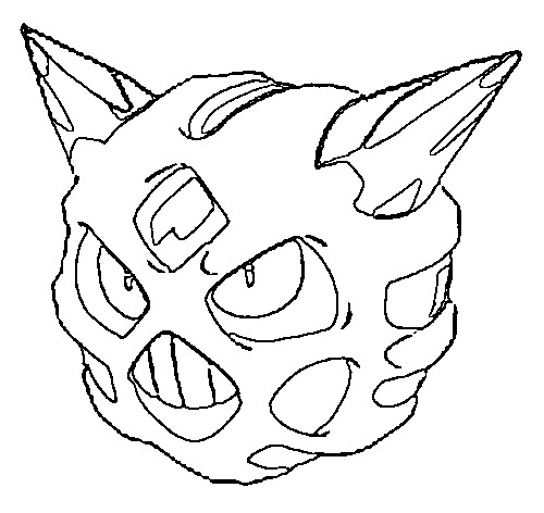 coloriage pokemon Oniglali
