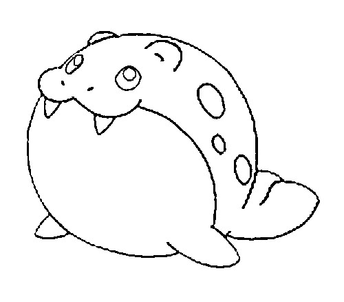 coloriage pokemon Obalie
