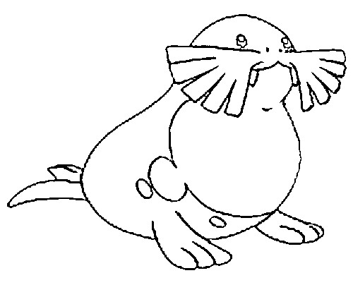 coloriage pokemon Phogleur