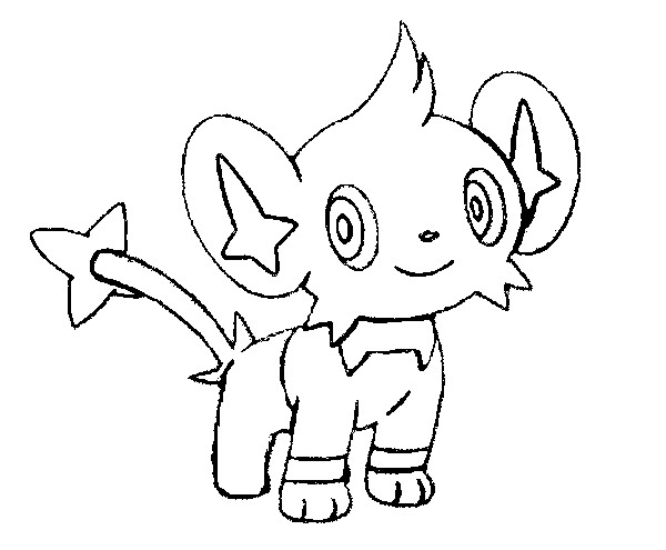 coloriage pokemon Lixy