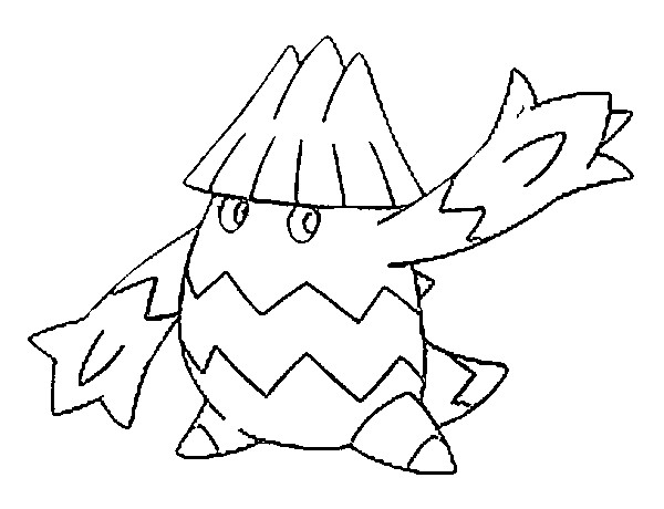 coloriage pokemon Blizzi
