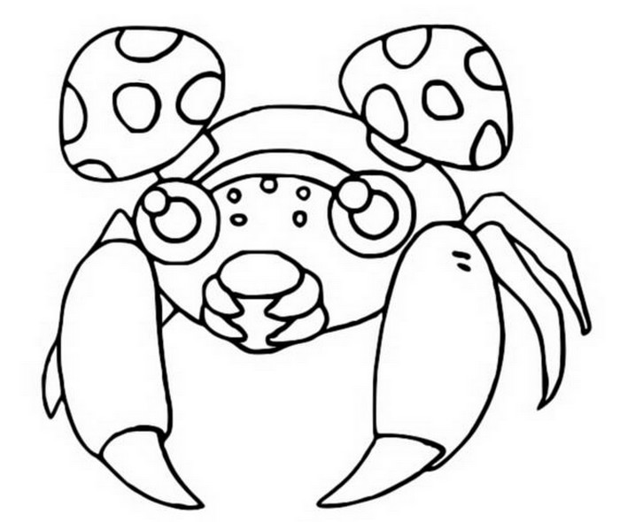 coloriage pokemon Paras