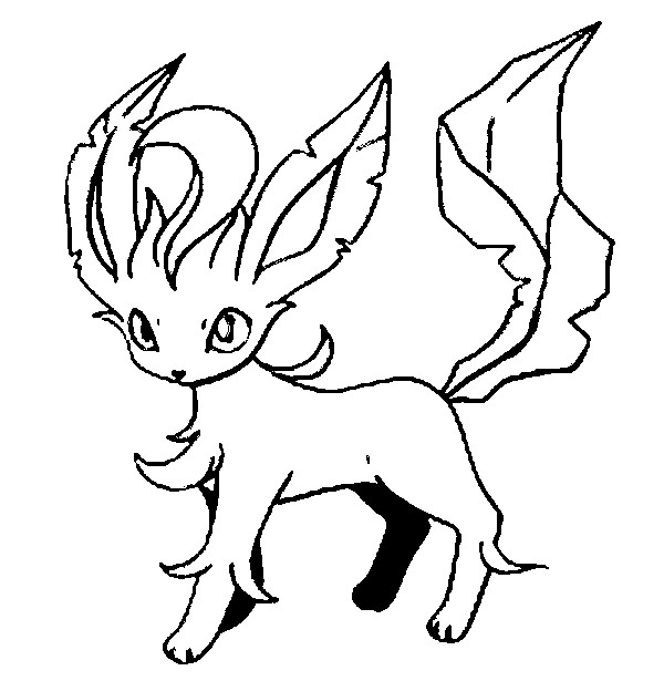coloriage pokemon Phyllali