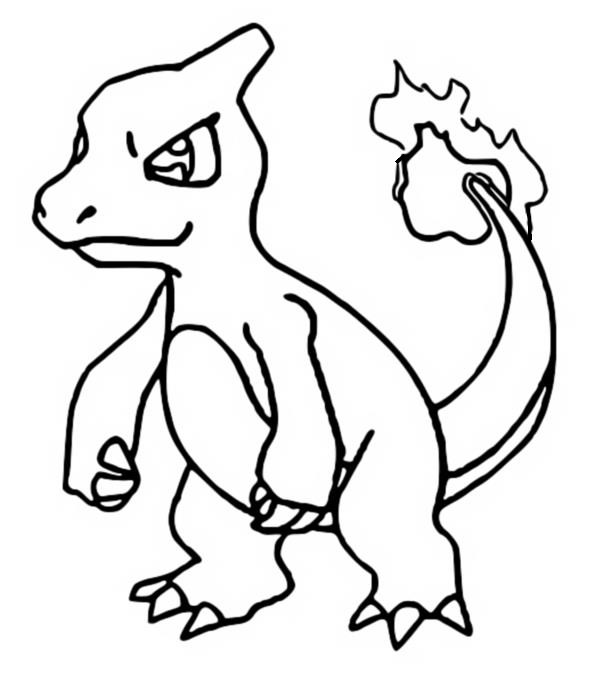 coloriage pokemon Reptincel