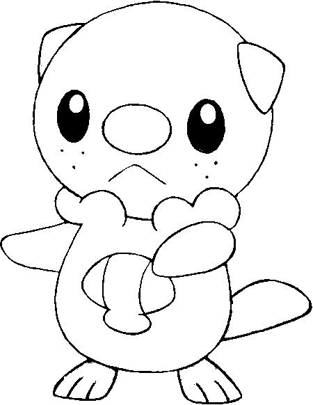 coloriage pokemon Moustillon