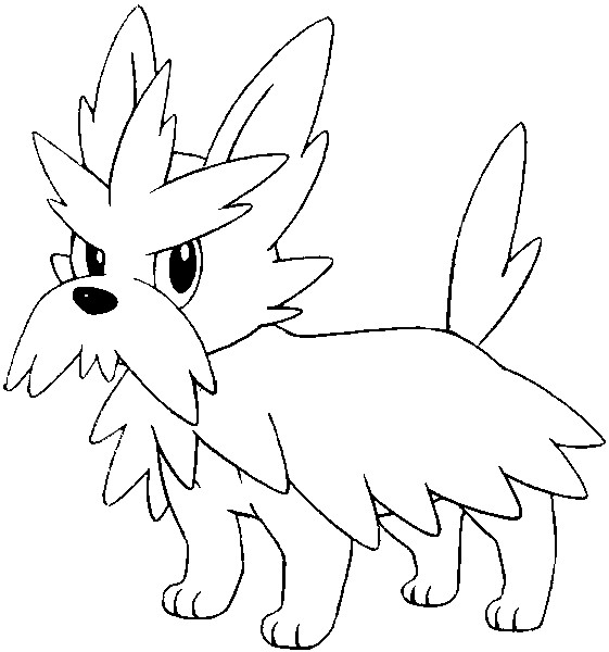 coloriage pokemon Ponchien
