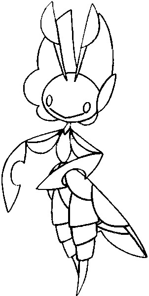 coloriage pokemon Manternel