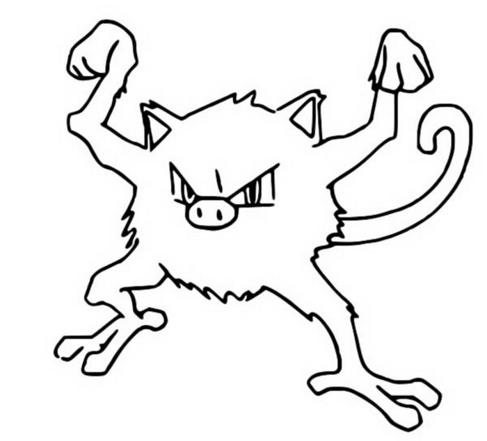 coloriage pokemon Férosinge