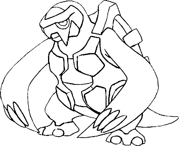 coloriage pokemon Mégapagos