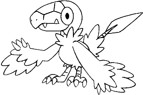 coloriage pokemon Arkéapti