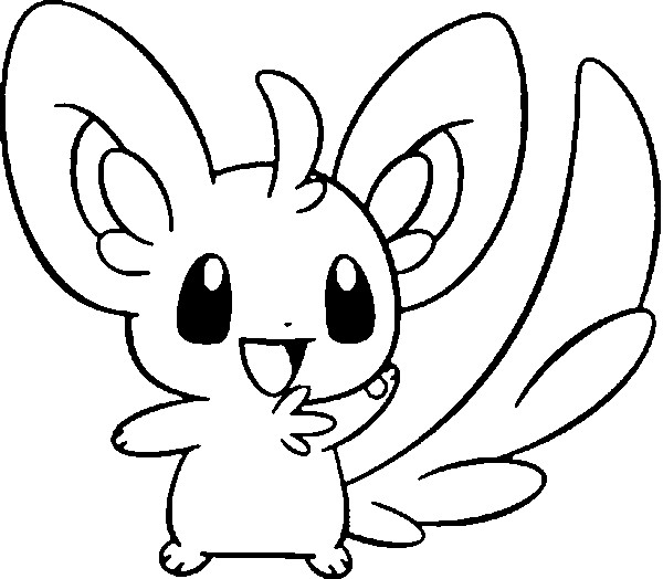 coloriage pokemon Chinchidou