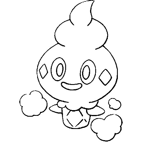 coloriage pokemon Sorbébé