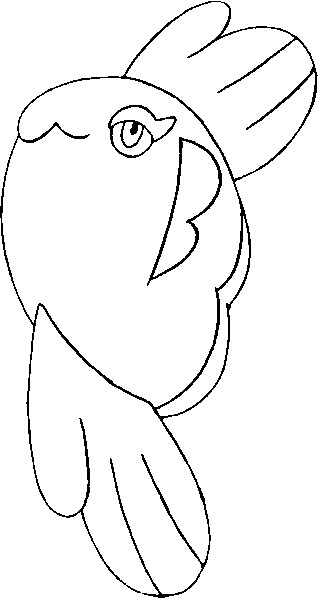 coloriage pokemon Mamanbo