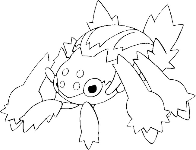 coloriage pokemon Mygavolt