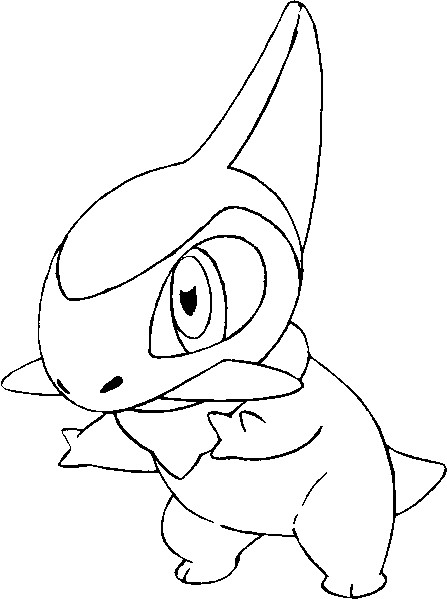 coloriage pokemon Coupenotte