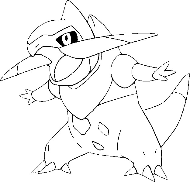 coloriage pokemon Incisache