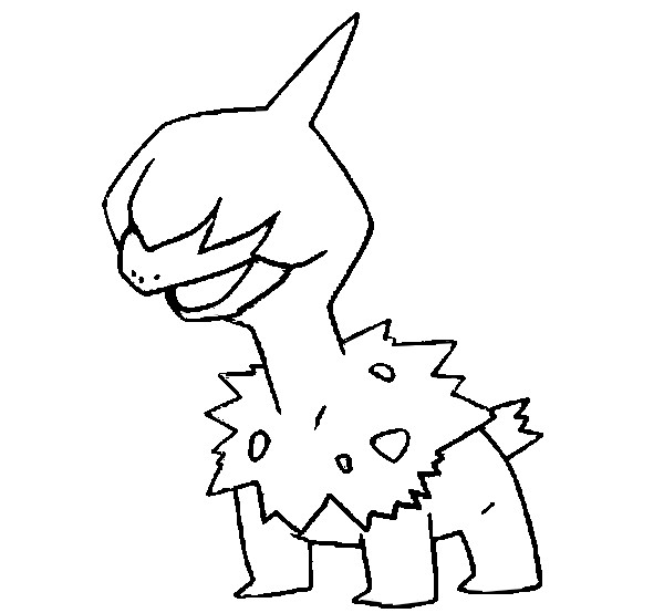 coloriage pokemon Solochi