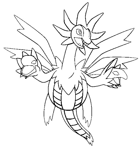 coloriage pokemon Trioxhydre