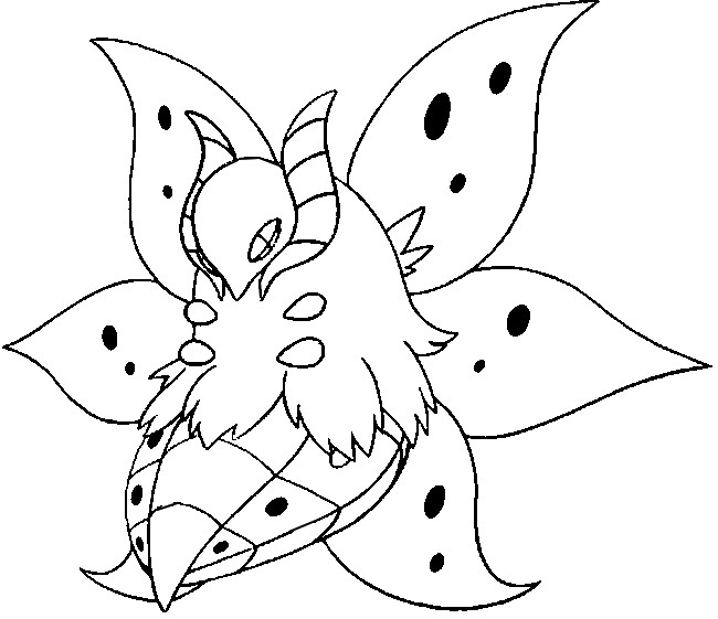 coloriage pokemon Pyrax