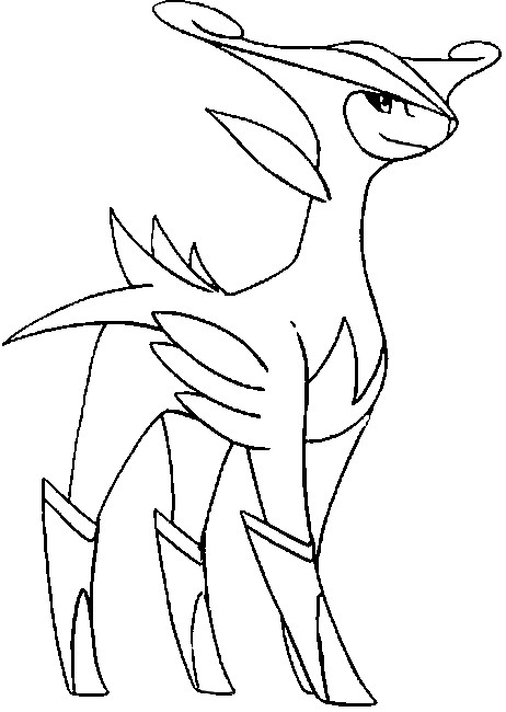 coloriage pokemon Viridium