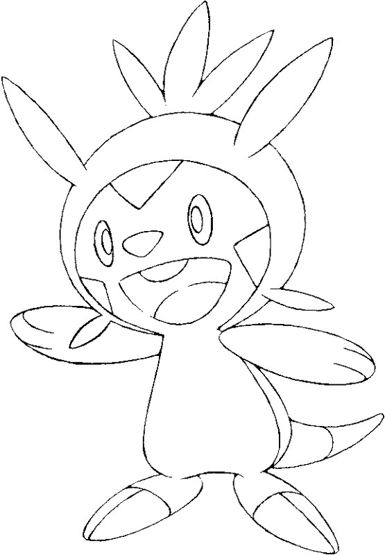 coloriage pokemon Marisson